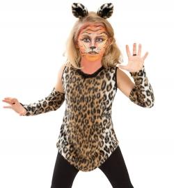 Katze Minki, Oberteil mit Armstulpen