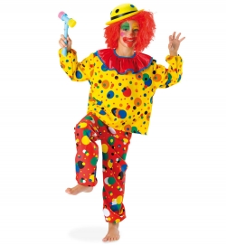 Clown Happy Oberteil und Hose