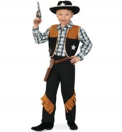 Cowboy Kostüm Sheriff Hose und Weste