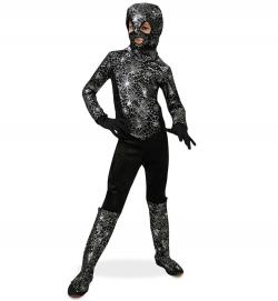 Kämpfer Spider Kostüm mit Haube