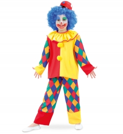 Clown Kinder Kostüm