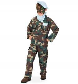 Kinder Komplettkostüm Army Soldat