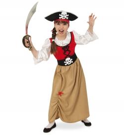 Piratin Kleid Piratenmädchen