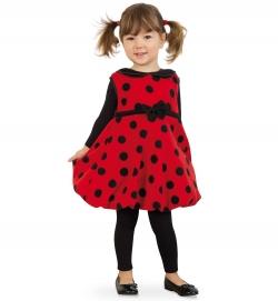Marienkäfer Mariele, Kleid Kinder Kostüm