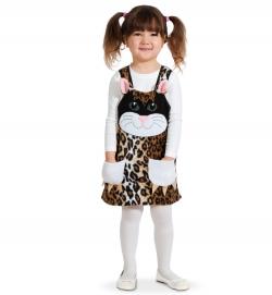 Kleid Katze mit Taschen Tierkostüm