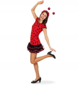 Glückskäfer, Kleid Teenie-Kostüm
