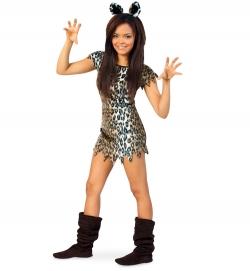 Leopard Kleid Tierkostüm