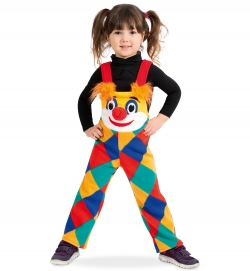Latzhose Kinder Clown