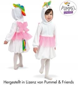Kleid Pummel-Einhorn mit Tüllrock Flügel Schweif