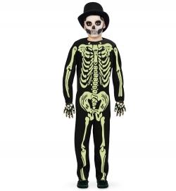Skelett Overall nachtleuchtend