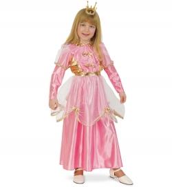 Prinzessin Kleid rosa/gold mit Gürtel