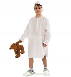 Kinder Nachthemd mit Mütze - Hemdglunker