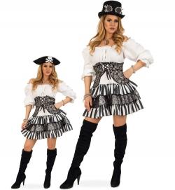 Steampunk Piratin Kleid