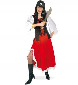Piratenlady Kostüm Piratin Seefahrerin