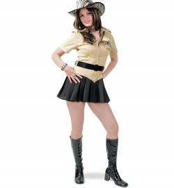 Dschungel Girl Safarikleid mit Gürtel