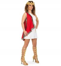 Römerin, Kleid mit Gürtel