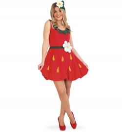 Süße Erdbeere Emily Strawberry Kleid + Haarreif