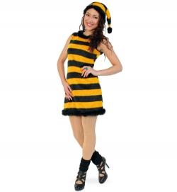 Bienenkostüm Honey mit Zipfelmütze