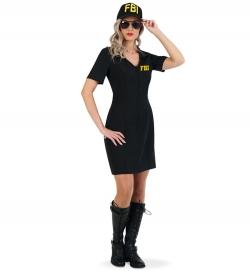 Miss FBI, Polizei Police Kleid