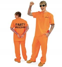 Party Prisoner Häftling Gefangener Oberteil & Hose
