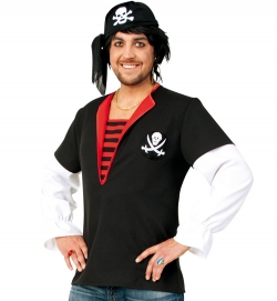 Pirat Seeräuber Freibeuter Oberteil