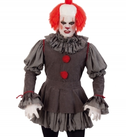 Böser Clown, Halloween Uni-Kostüm