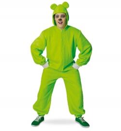 Bärli grün, Overall mit Kapuze
