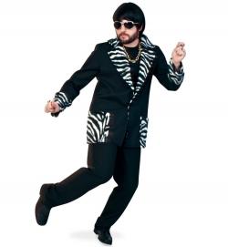 Herren Jacke Zebra