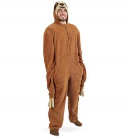 Faultier, Overall Uni-Kostüm