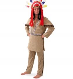 Indianer Häuptling Große Feder