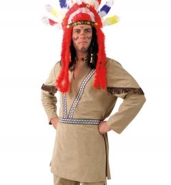 Indianer Häuptling Wilder Büffel Oberteil