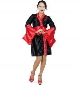 Geisha, Kleid mit Gürtel