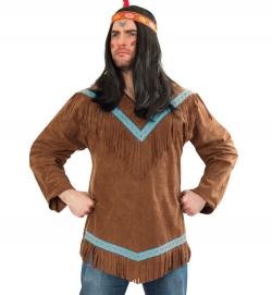 Indianer tapferer Krieger Oberteil
