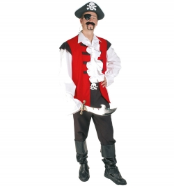 Pirat Ralph, Weste, Hose + Gürtel