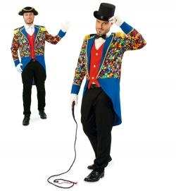 Zirkusdirektor Frack Kunterbunt Jacke Garde