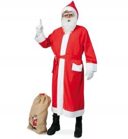 Nikolausmantel Weihnachtsmann Santa Clause mit rotem Gürtel