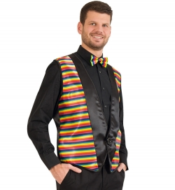 Weste Rainbow