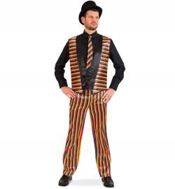 Anzug Rainbow Weste und Hose