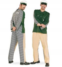 Faschingsverkleidung Polizeisträfling