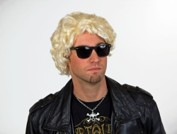Herrenperücke Bobby blond