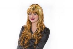 Perücke Sandra, braun/blonden