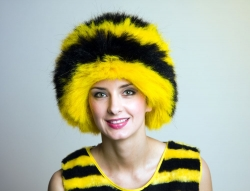 Faschingsperücke Biene