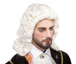 Perücke Richter, weiß