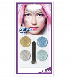 Schmink-Set Glitter, bunt, 10 g SB