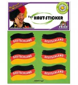 Fan Tattoos Deutschland Flagge