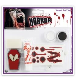 Schmink Set Vampir-Set 7teilig