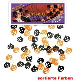 Halloween Konfetti Kürbis