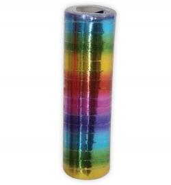 Luftschlange Rainbow-metallic Faschingsdeco