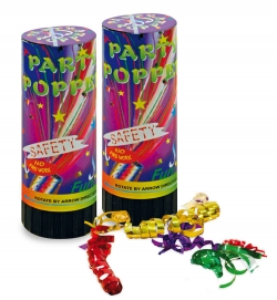 Party Popper im Set 2 Stk.