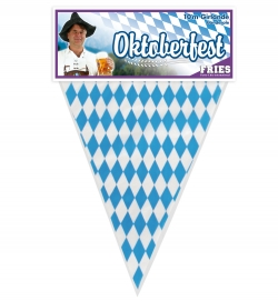 Wimpel Girlande Kette Bayern 10 Meter